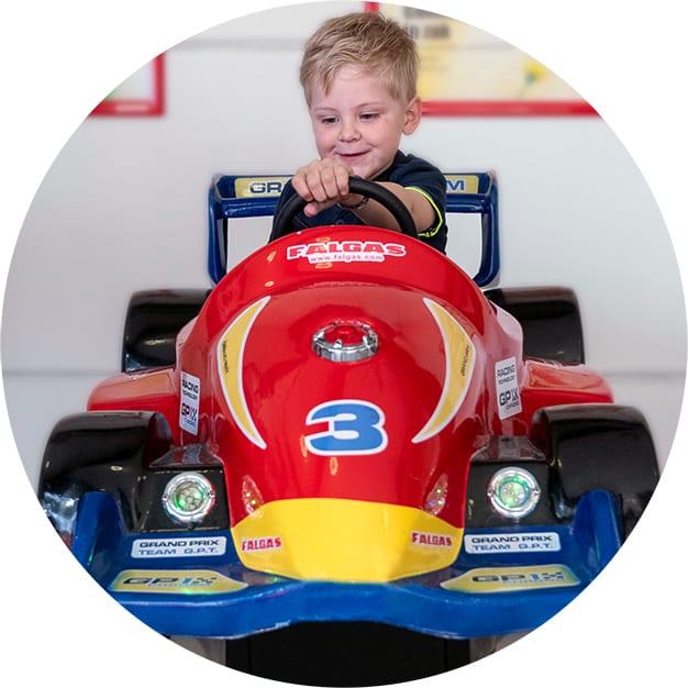 Amuse Kiddy Rides Formule 1 race auto (1)